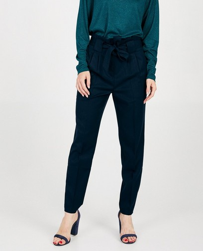 Pantalon bleu marine Sora