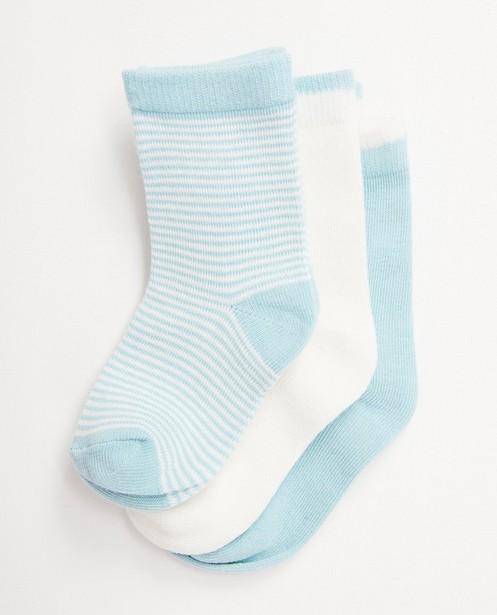 3 paires de chaussettes pour bébés - pointure 19-21 - JBC