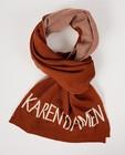 Breigoed - Roestbruine sjaal Karen Damen