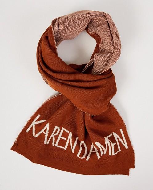 Breigoed - BRM - Roestbruine sjaal Karen Damen