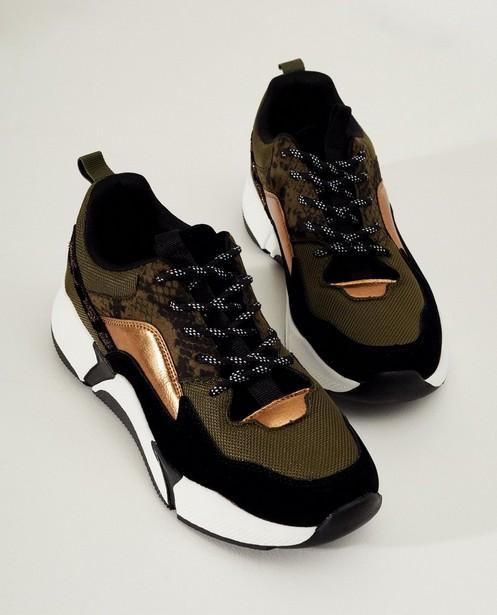 Chaussures - Baskets vertes