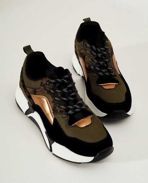 Chaussures - assortment - Baskets vertes
