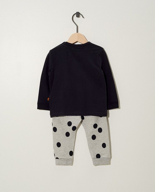 Pyjamas - dark grey -