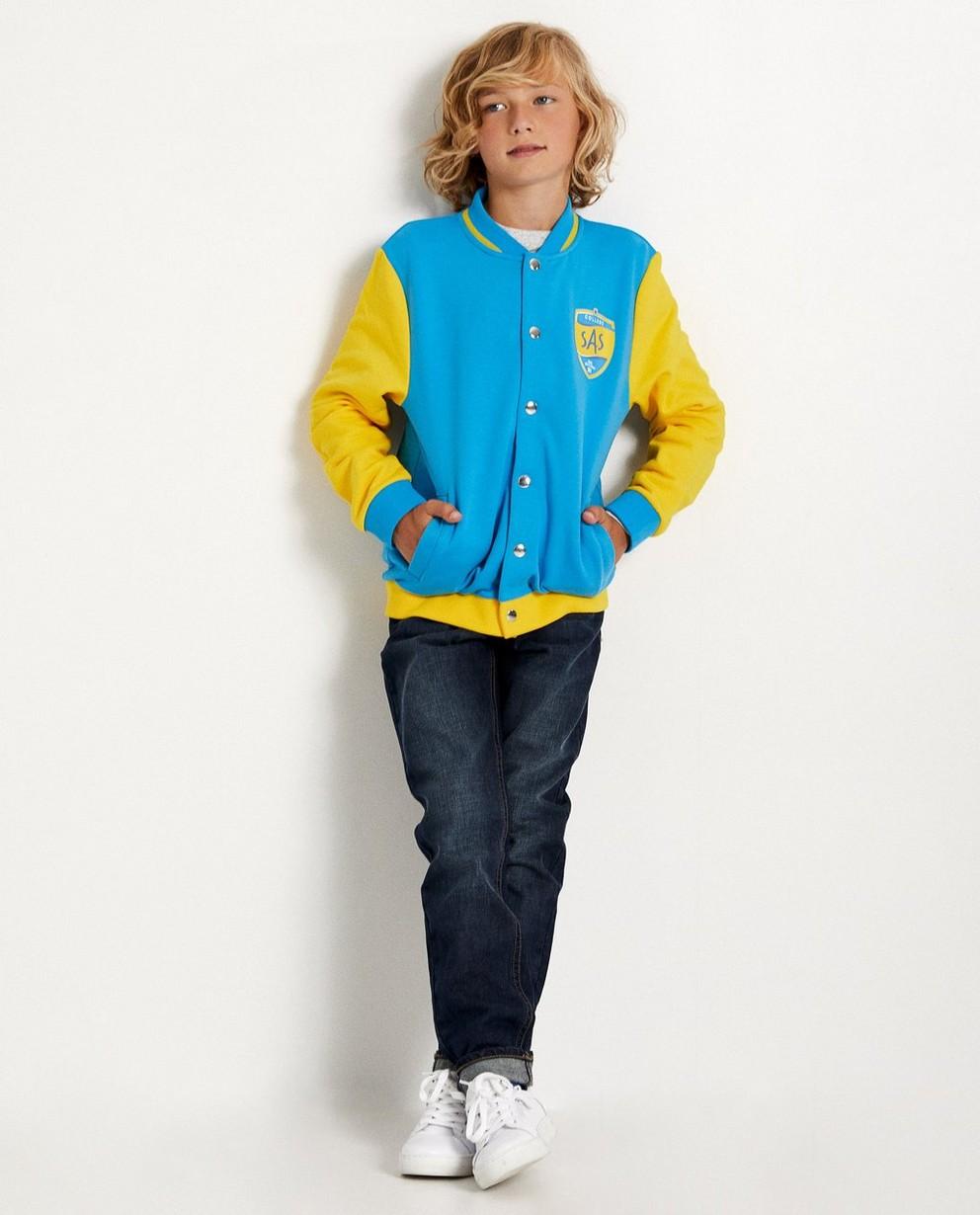 Gilet bleu et jaune #LikeMe - bomber - Like Me