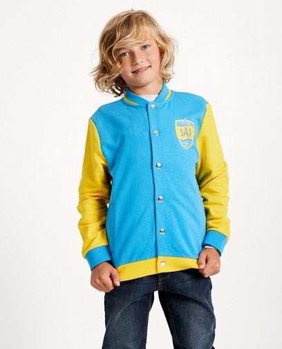 Blauw-geel vest #Like Me