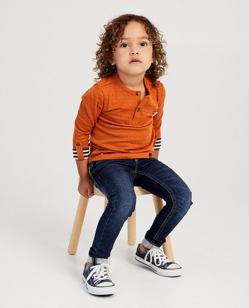 T-shirts - brown - T-shirt rouille Samson