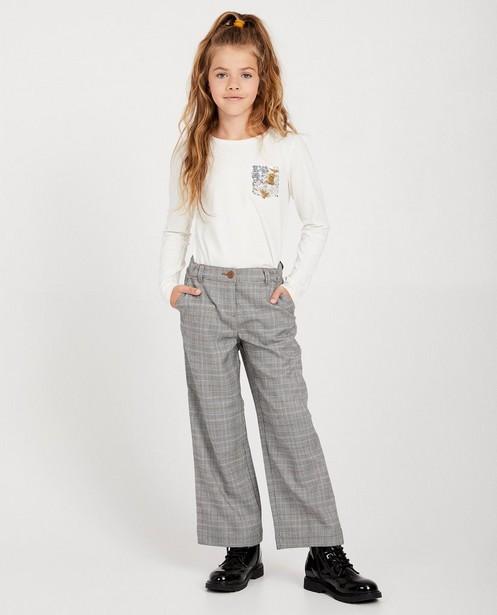 Pantalon rayé - avec un motif ligné - fish