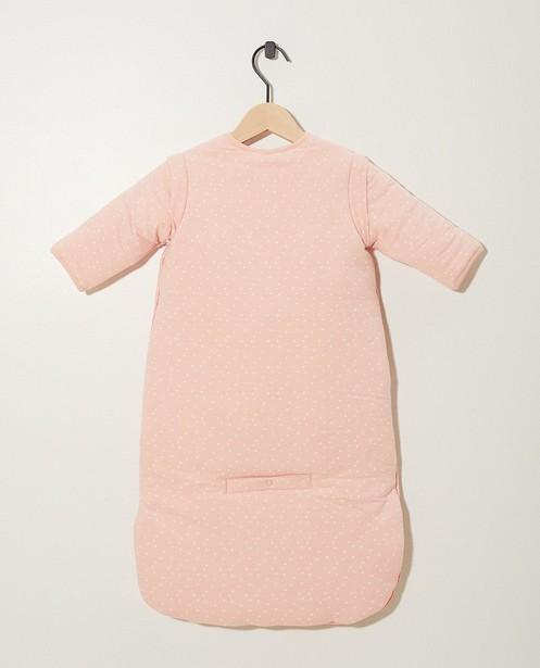 Babyspulletjes - Roze slaapzak van biokatoen