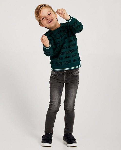 sweater fluweel - null - JBC