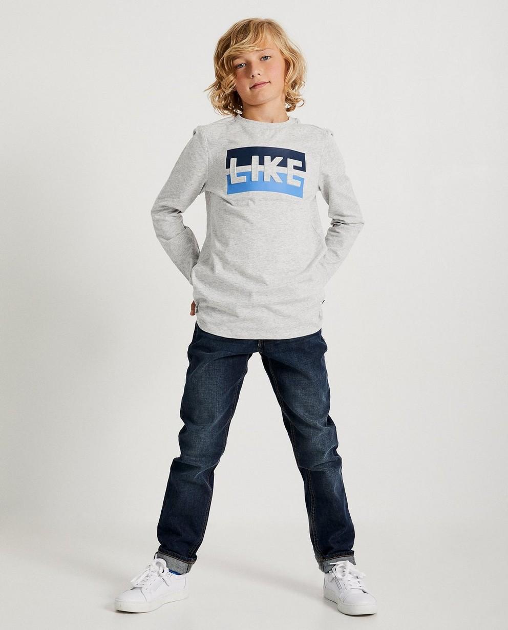 T-shirt bleu «LIKE» Ketnet - Ketnet - Ketnet