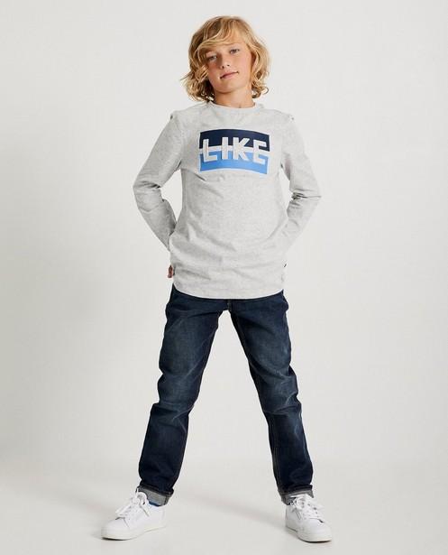 Blaues T-Shirt 'LIKE' Ketnet - Ketnet - Ketnet