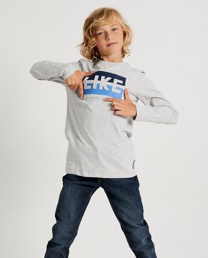 T-shirt gris «LIKE» Ketnet