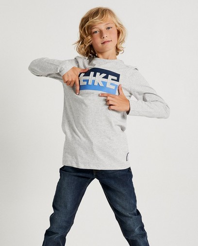 Grijs T-shirt 'LIKE'  Ketnet