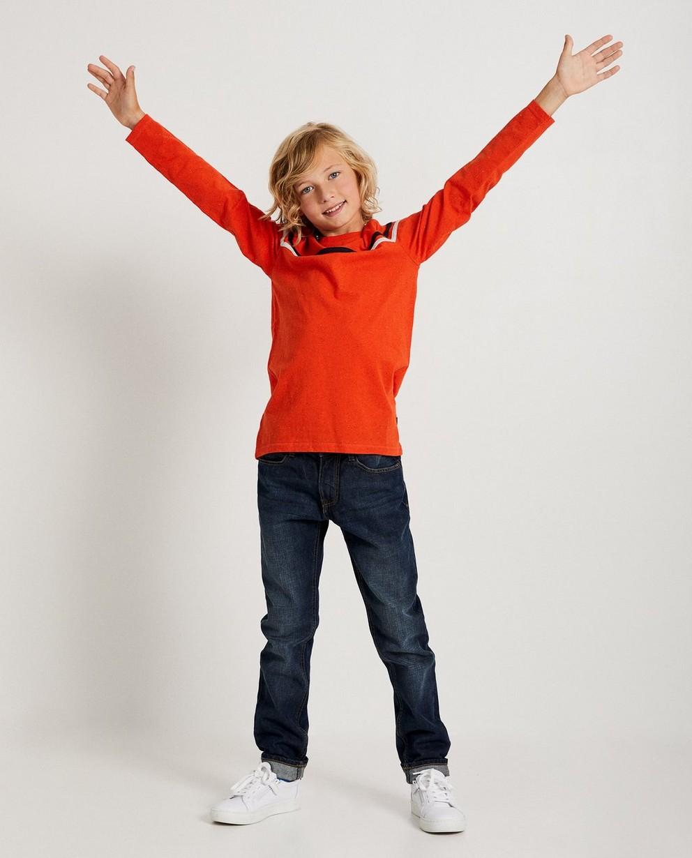 T-shirt orange Ketnet - rayures - Ketnet