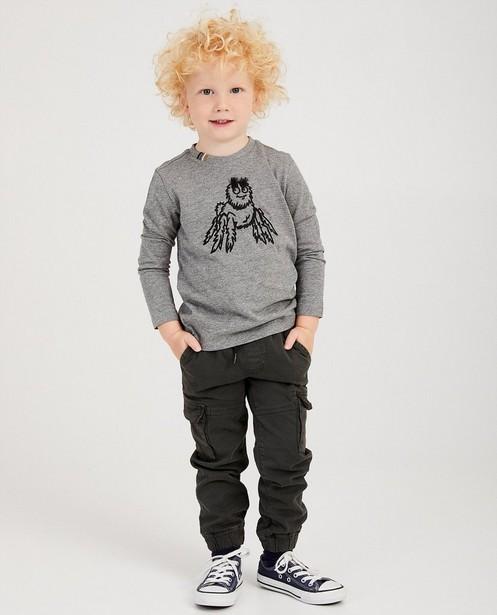 Pantalon cargo Plop - gris anthracite - Plop