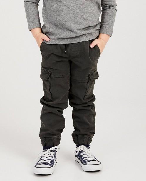 Pantalons - dark grey - Pantalon cargo Plop