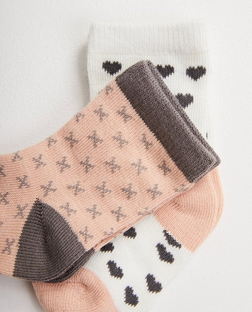 Chaussettes - pink -