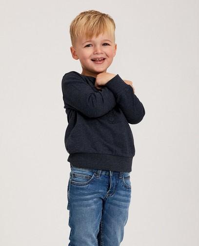 Donkerblauwe sweater BESTies