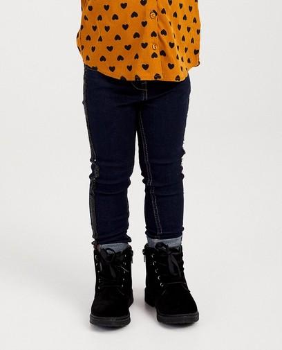 Blauwe jeans met pailletten K3