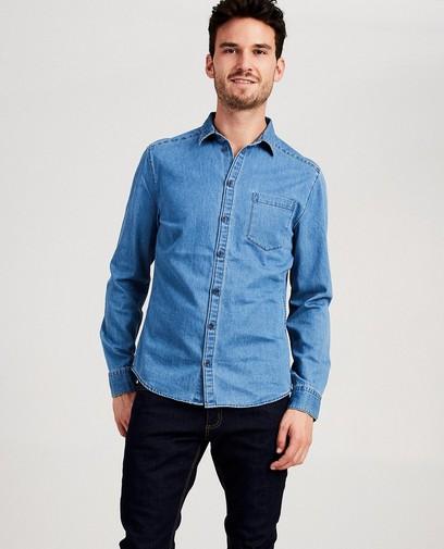 Blauw hemd van denim