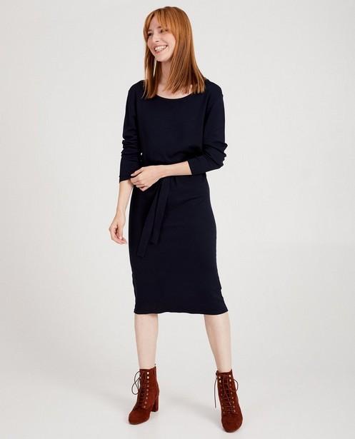 Robe bleu foncé Sora - fin tricot - Sora