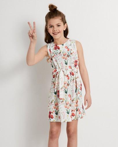 Witte jurk met print Ella Italia