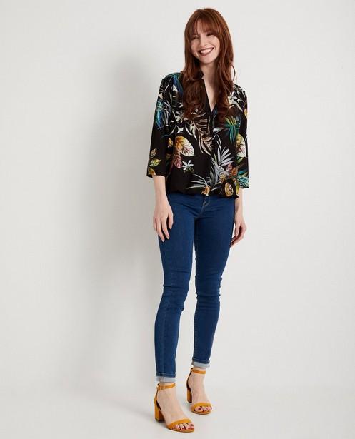 Zwate blouse met print Ella Italia - allover print - elle