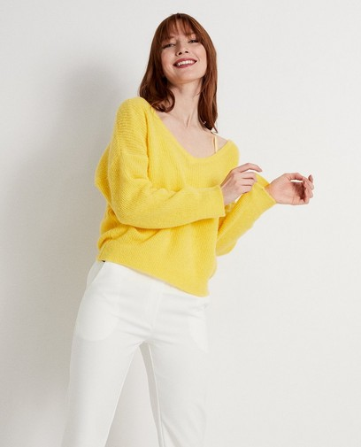 Pull jaune Ella Italia