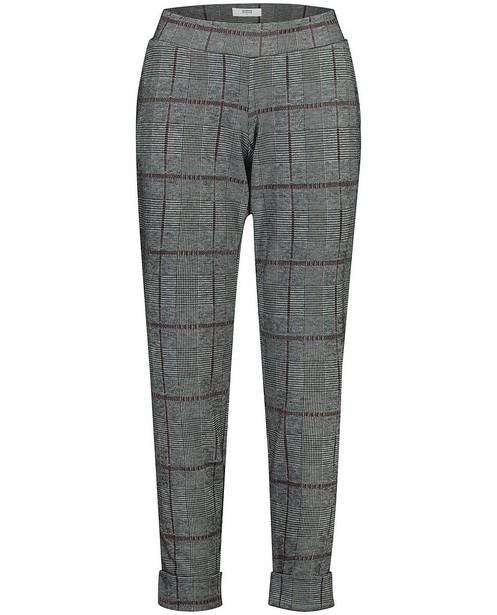 Pantalon Mamalicious - à carreaux gris et bordeaux - mali