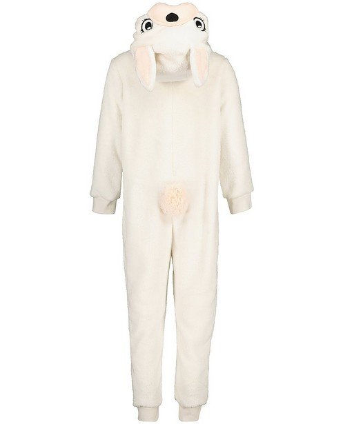 Pyjamas - Combinaison blanche lapin