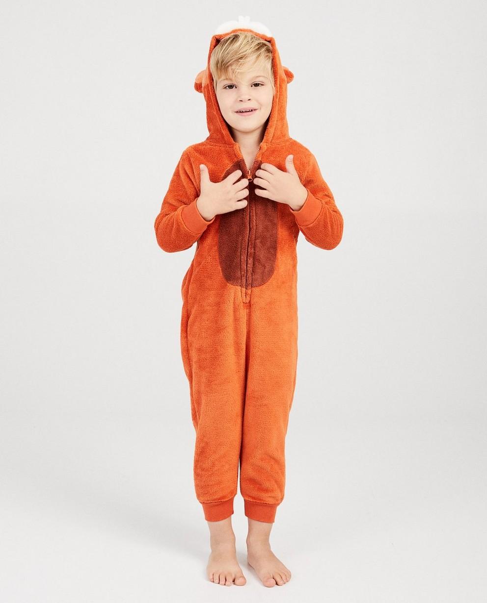 Eekhoorn onesie - faux-fur - JBC NL
