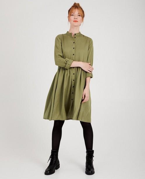 Robes - dark green - Robe verte en lyocell I AM
