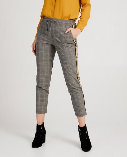 Pantalon gris, imprimé Sora