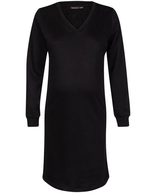 Robe molletonnée noire JoliRonde - robe de grossesse - Joli Ronde