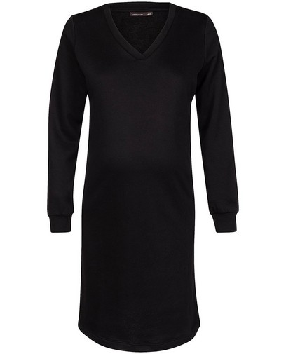 Robe molletonnée noire JoliRonde