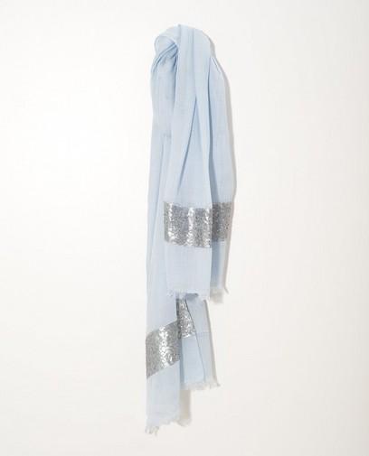 Écharpe bleu clair Sarlini