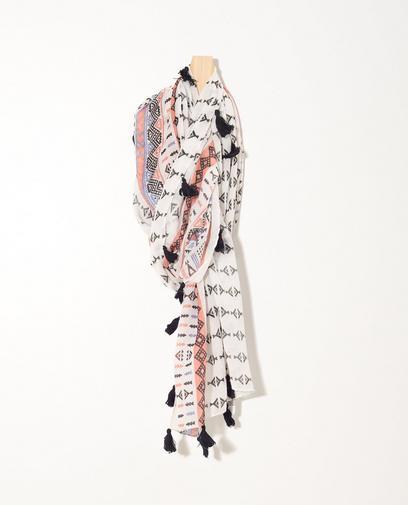 Sjaal met tribalprint Sarlini