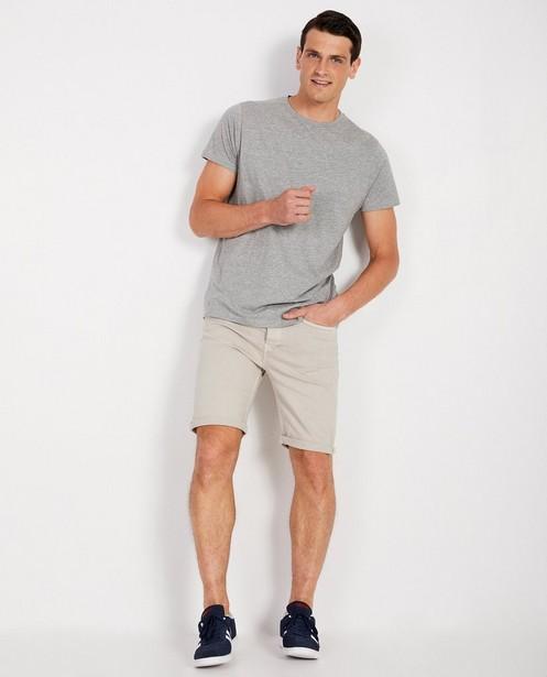 Donkerblauwe short - jeans - JBC