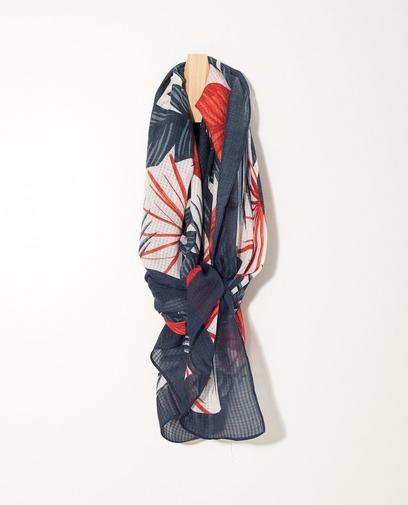 Donkerblauwe sjaal Sarlini