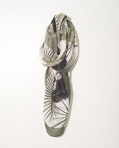Groene sjaal Sarlini