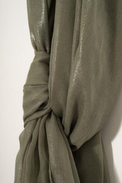Bonneterie - green - Foulard vert brillant Sarlini