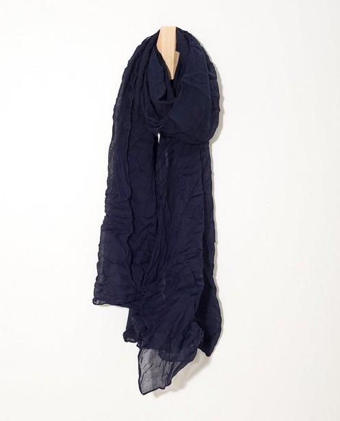 Donkerblauw sjaaltje Sarlini - one size - JBC