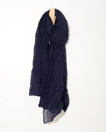 Donkerblauw sjaaltje Sarlini