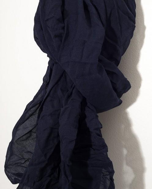 Breigoed - BLM - Donkerblauw sjaaltje Sarlini