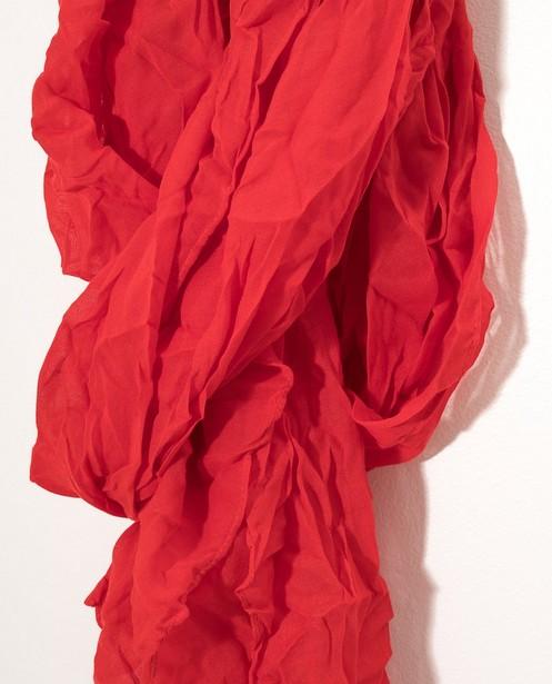 Bonneterie - plum - Foulard rouge Sarlini