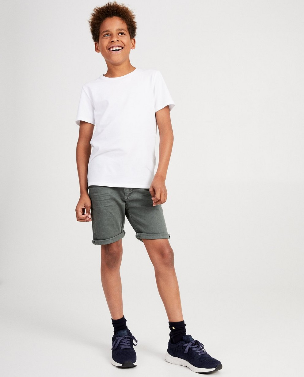 Short bleu marine, 7-14 ans - fish and chips - JBC