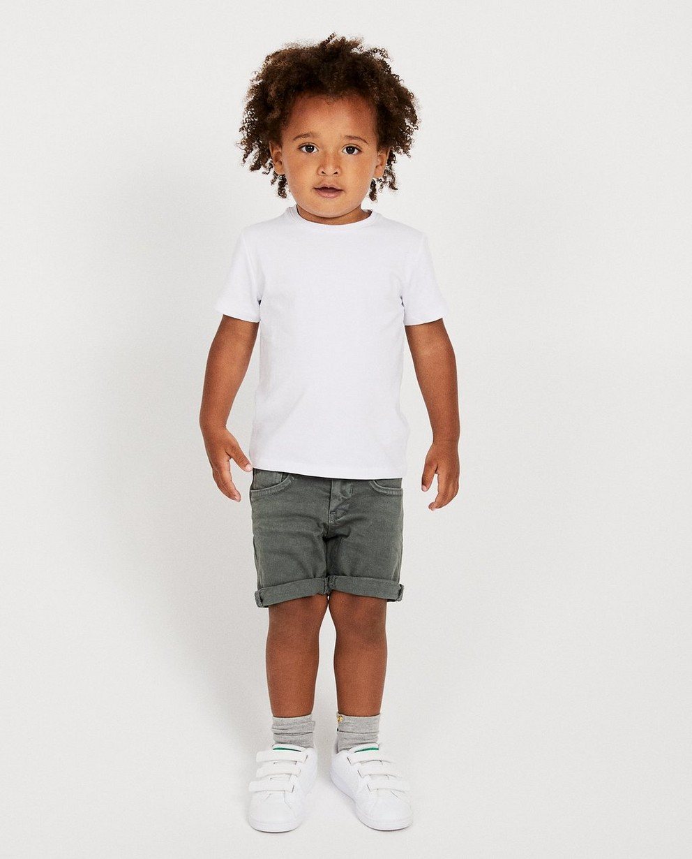 Short bleu marine, 2-7 ans - fish and chips - JBC