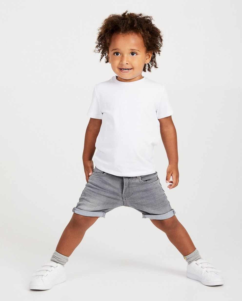 Short bleu, 2-7 ans - fish and chips - JBC