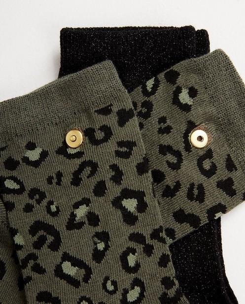 Chaussettes - Ensemble: 2 paires de chaussettes