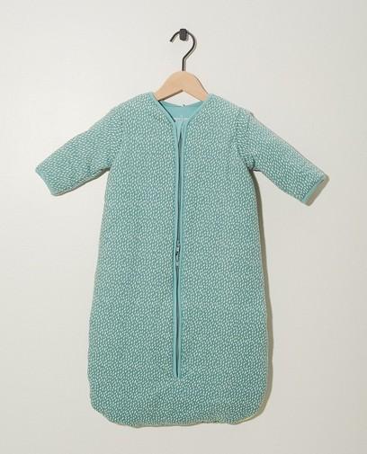 Sac de couchage bleu en coton bio